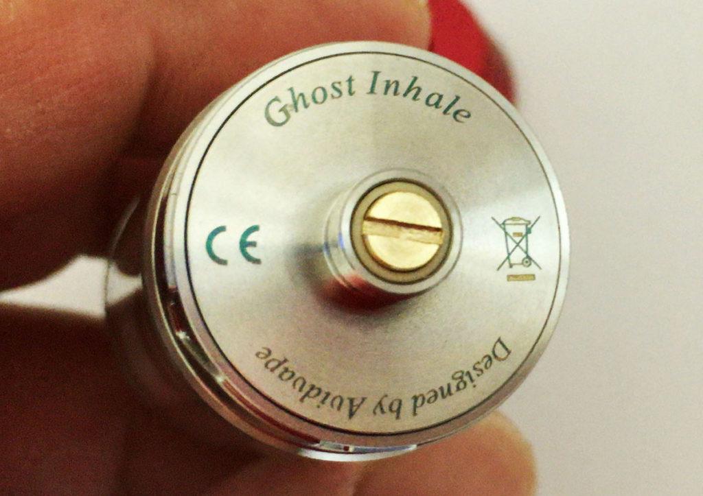 【AVIDVAPE】Ghost Inhale(ゴーストインヘイル)RTAアトマイザー