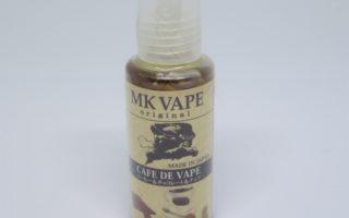 【MK Lab】MK VAPE CAFÉ DE VAPE(エムケーベイプ カフェ ド ペイプ)リキッドのレビュー