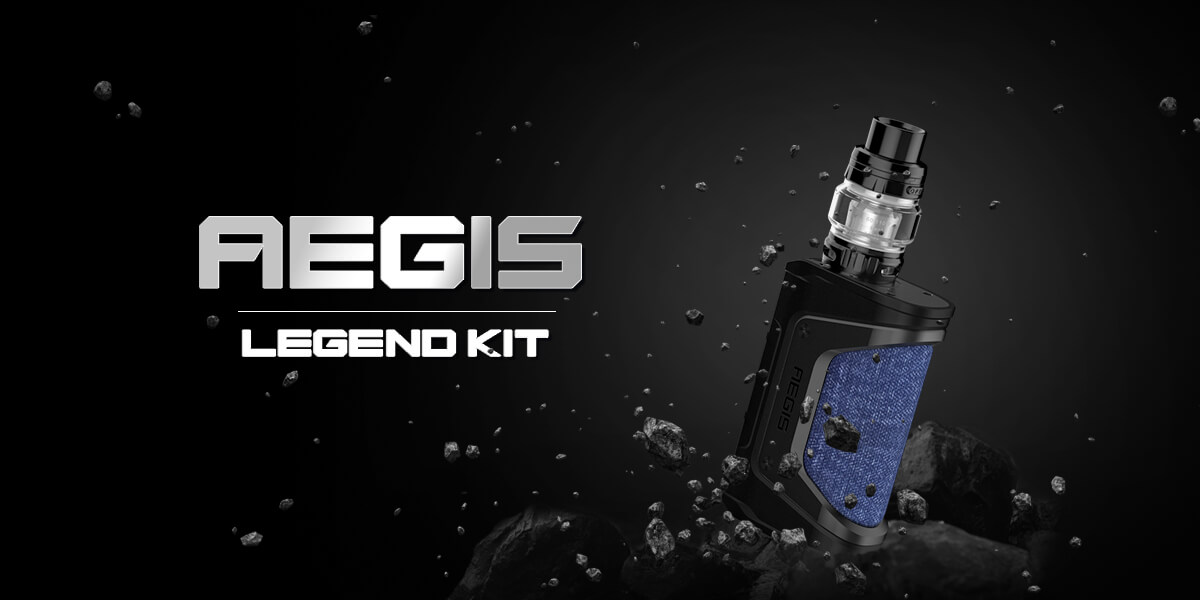 GeekVape Aegis Legend 200W TC Box Mod Kit