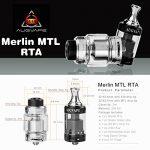 RBA(RDA・RTA・RDTA)Merlin 22 mmの商品写真3枚目