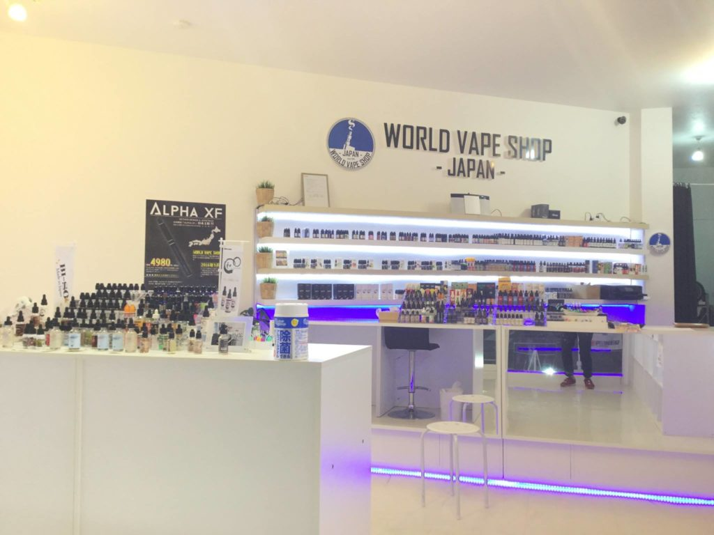 WORLD VAPE SHOP JAPAN