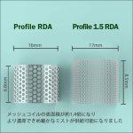 RBA(RDA・RTA・RDTA)Profile V1.5 RDAの商品写真7枚目