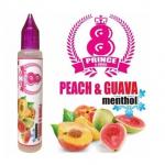 メンソール・ミント系PEACH&GUAVA MENTHOL(ピーチアンドグアバ メンソール)の商品写真1枚目