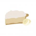 スイーツ系Banana Cream Pie(バナナクリームパイ) Captivapeの商品写真1枚目