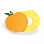 リキッドPeach And Pineapple(ピーチ アンド パイナップル)の商品写真1枚目